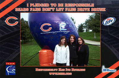 Chicago Bears and Partners Offer Unique Reward to Responsible Fans