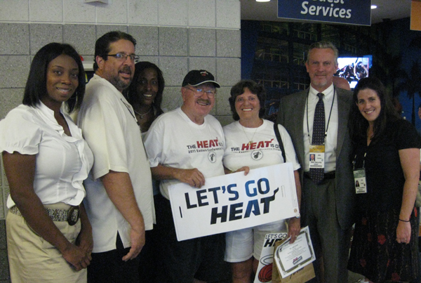 Miami Heat Designated Driver for the Season Wins Tickets to 2011 Finals Game 1