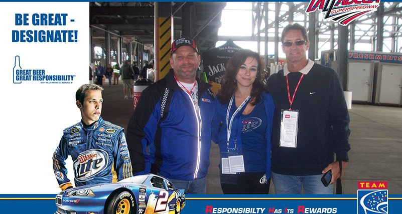 Responsible NASCAR Fans Rewarded at Talladega Superspeedway in October 2012