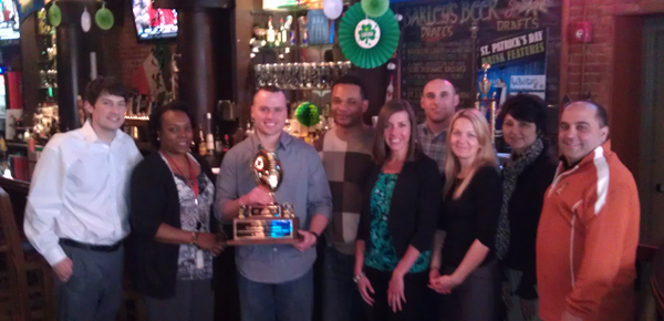 Cleveland Browns won the Designated Driver Challenge. They were recognized by TEAM Coalition and Bud Light on March 15, 2013.