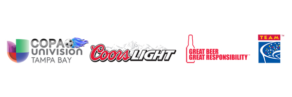 RHIR Partners with Coors Light at the 2013 Copa Univision Tournament