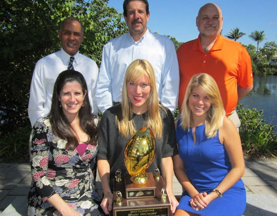 Miami Dolphins Recognized as Winners of Bud Light Good Sport Designated Driver Challenge