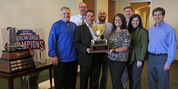 Texas Rangers Recognized as Winners of Budweiser Good Sport Designated Driver Challenge