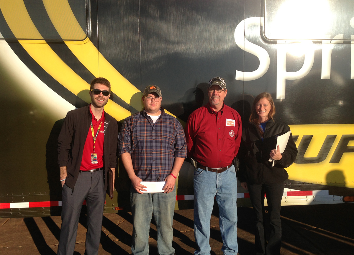 Congratulations to Zack Slaght, Designated Driver of the Race at Talladega Superspeedway