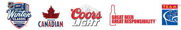 TEAM Coalition Partners with NHL®, Coors Light and Molson Canadian for Responsibility Has Its Rewards Promotion at 2014 Bridgestone NHL Winter Classic®