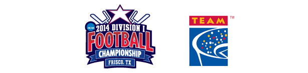 TEAM Coalition Partners with the NCAA for the 2014 NCAA Division I Football Championship in Frisco, TX
