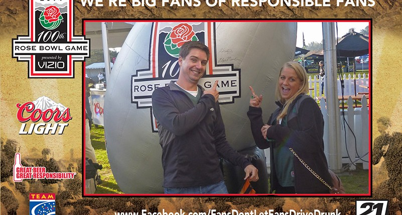 Coors Light and TEAM Coalition Promote Responsibility at 2014 Rose Bowl