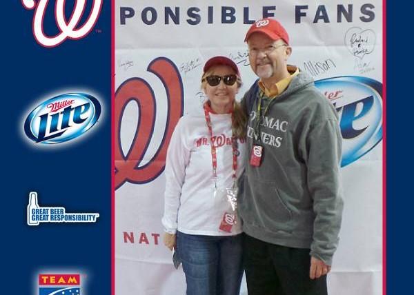Responsible Fans Rewarded at Washington Nationals Game