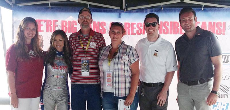 Responsible NASCAR Fans Rewarded at Charlotte Motor Speedway