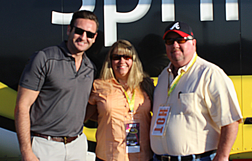 Congratulations to Lucinda Belew, Designated Driver of the Race at Talladega Superspeedway