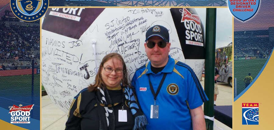 Responsible Philadelphia Union Supporters Rewarded at Budweiser Good Sport Designated Driver Challenge Rivalry Match