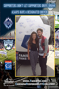 Responsible Vancouver Whitecaps FC Supporters Rewarded at Cascadia Responsibility Challenge Rivalry Match