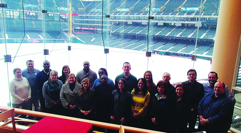 Thanks to all our IDP attendees at Progressive Field!