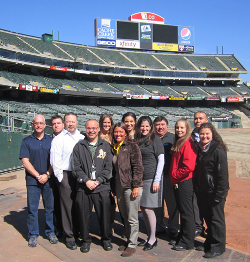 Thanks to all our IDP attendees at O.co Coliseum!
