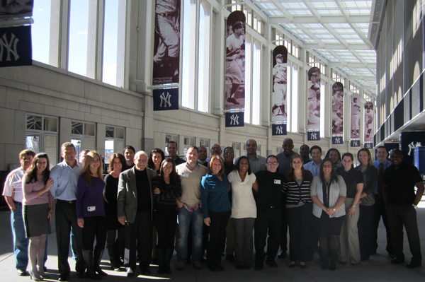 Thanks to all our IDP attendees at Yankee Stadium!
