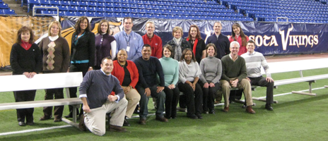 Attendees of the Minneapolis IDP became certified TEAM trainers.