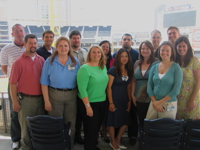 TEAM IDP participants enjoy another perfect day at PETCO Park