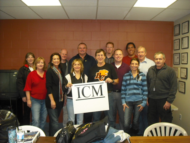 Attendees of the ICM IDP became certified TEAM trainers.