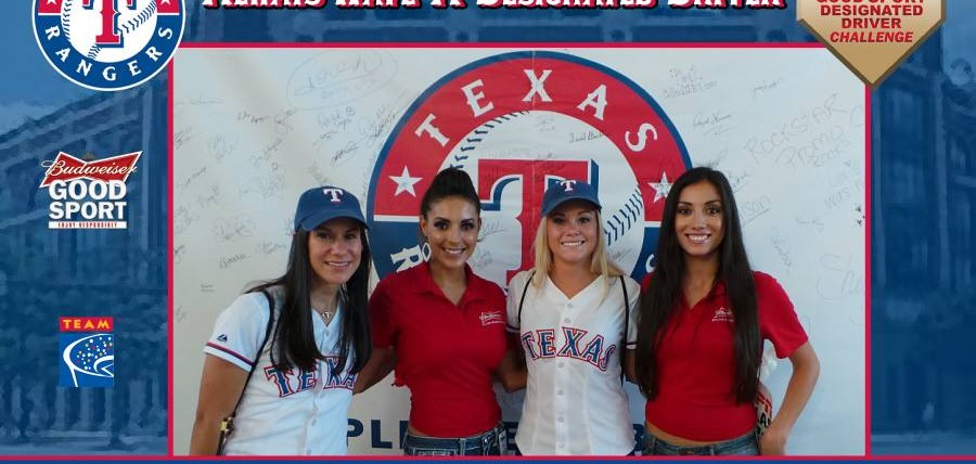 Responsible Texas Rangers Fans Rewarded at Budweiser Good Sport Designated Driver Challenge Rivalry Series