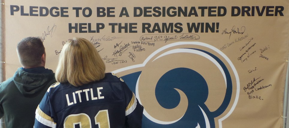 Rams Fans Never Drive Drunk in October 2014