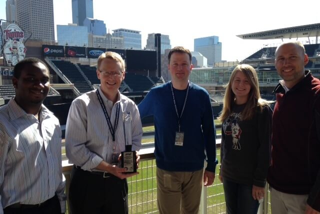 Minnesota Twins Recognized as Winners of Budweiser Good Sport Designated Driver Challenge