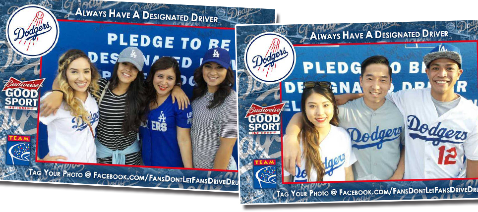 Dodgers Fans Always Have a Designated Driver