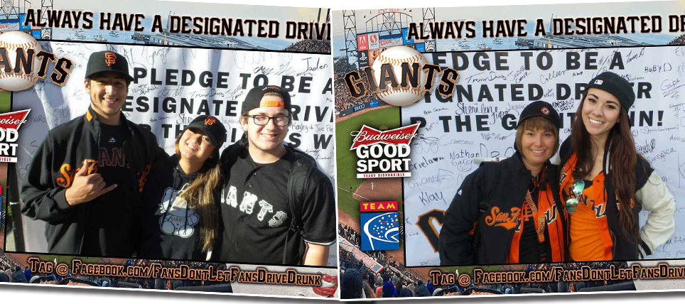 Giants Fans Always Have a Designated Driver