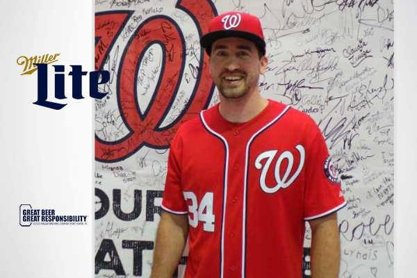 finest selection 7a209 2834f Miller Lite and the Washington Nationals Reward Responsible ...