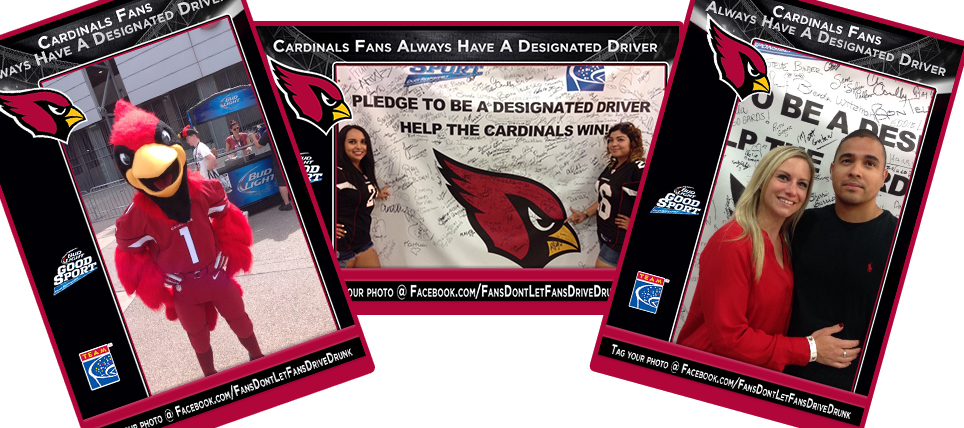 Arizona Cardinals Fans Don't Drive Drunk
