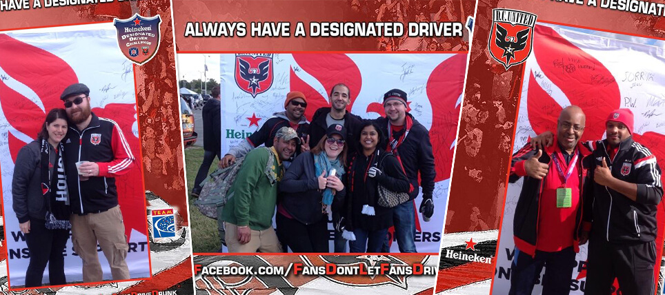 D.C. United Host Heineken Designated Driver Challenge Rivalry Match