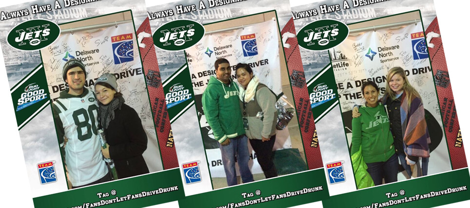 New York Jets Fans Never Drive Drunk