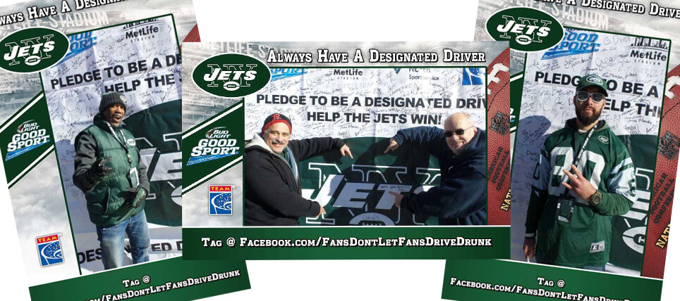 New York Jets Fans Always Have a Designated Driver