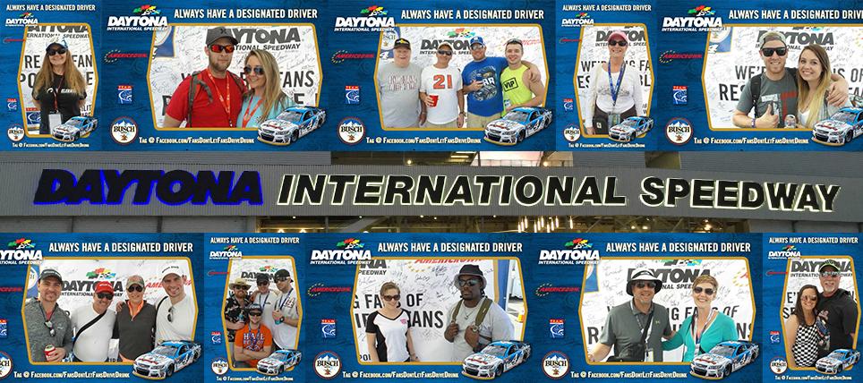 Responsible NASCAR Fans at Daytona 500