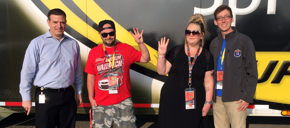 Responsible NASCAR Fans at Auto Club Speedway