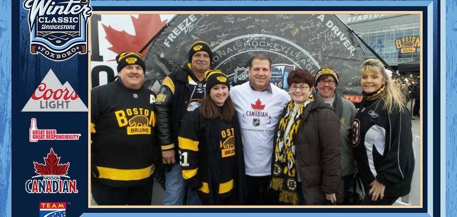 Responsibility Has Its Rewards Campaign at 2016 Bridgestone NHL Winter Classic