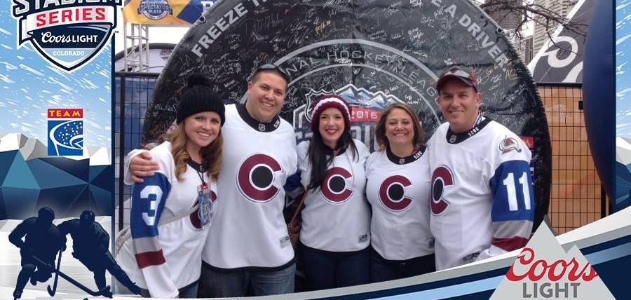 RHIR at 2016 Coors Light NHL Stadium Series™ Denver