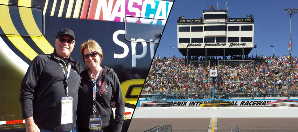 Responsible NASCAR Fans at Phoenix International Raceway