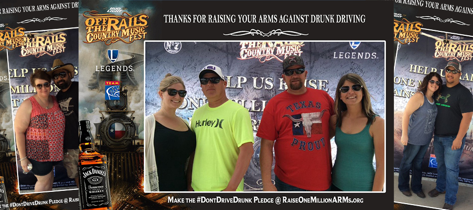 Jack Daniel's, Legends Promote Raise One Million ARMs at Off the Rails Music Fest