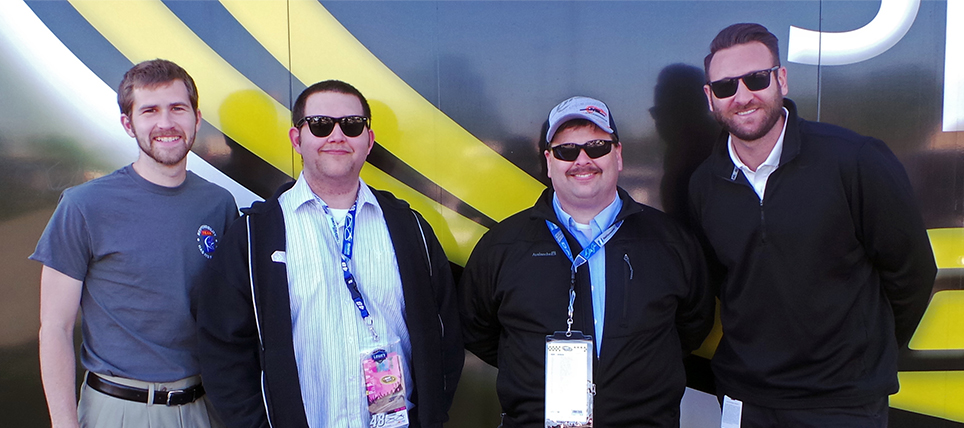 Responsible NASCAR Fans at Dover International Speedway