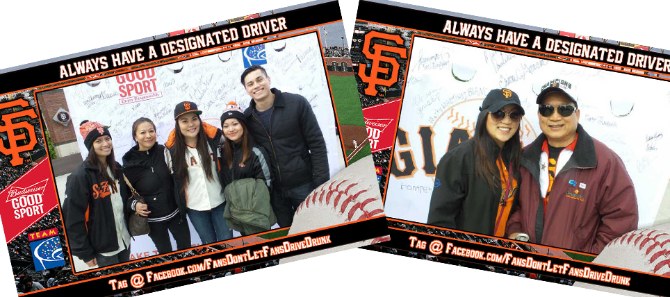 San Francisco Giants Fans Always Have a Designated Driver