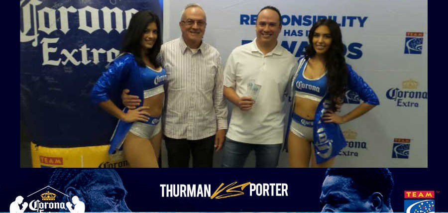 Corona Extra and TEAM Coalition Reward Responsible Fans at Thurman vs. Porter