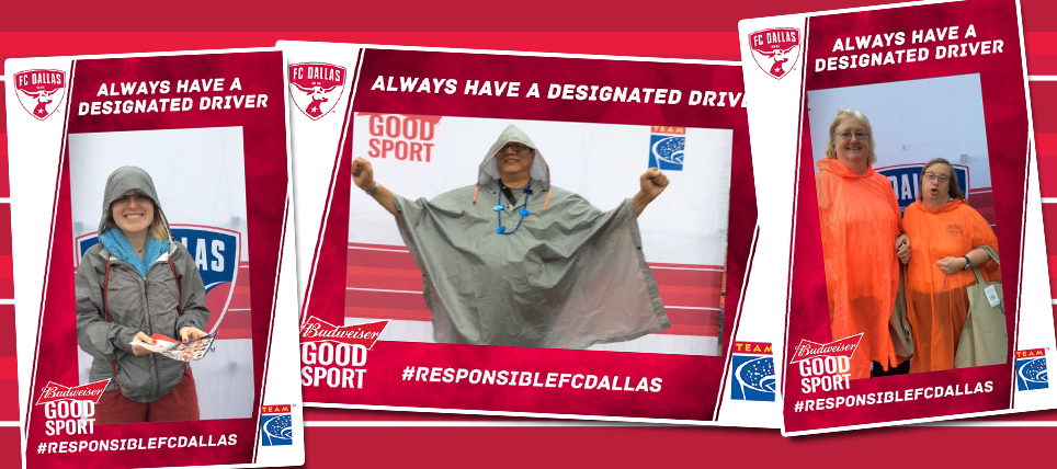 FC Dallas Supporters Always Have a Designated Driver