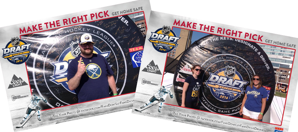 Alcohol Responsibility at 2016 NHL Draft™ Day Fan Fest