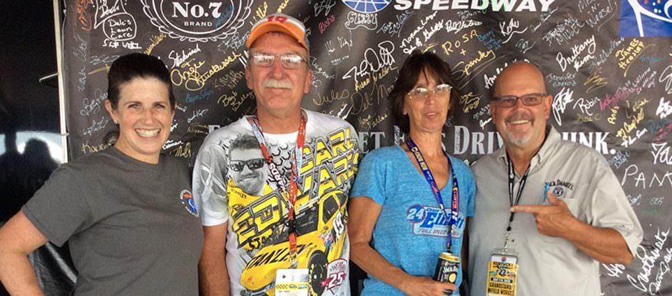 Responsible NASCAR Fans at Kentucky Speedway
