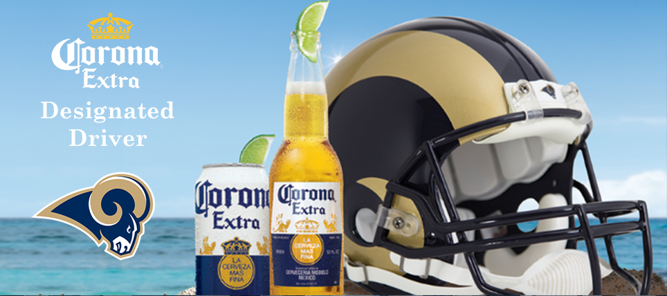Responsible Los Angeles Rams Fans Rewarded by Corona Extra