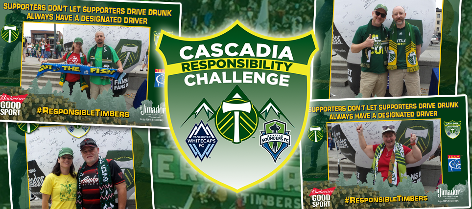 Timbers Host July Cascadia Responsibility Challenge