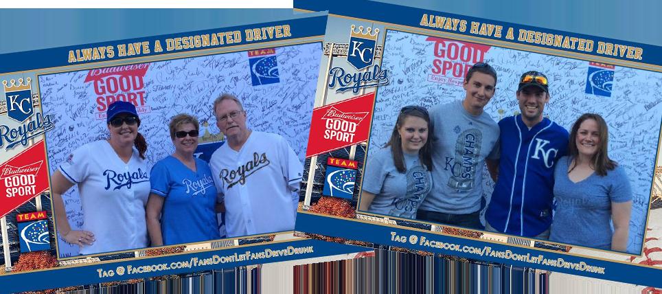 Kansas City Royals Fans Always Have a Designated Driver