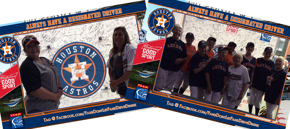 Houston Astros Fans Always Have a Designated Driver