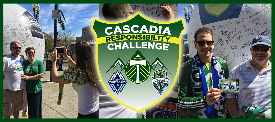 Timbers Host August Cascadia Responsibility Challenge