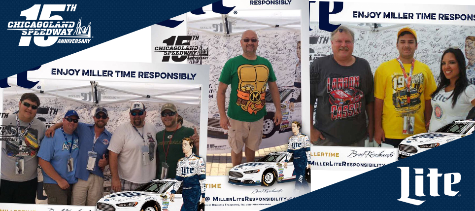 Responsible NASCAR Fans Rewarded at Chicagoland Speedway